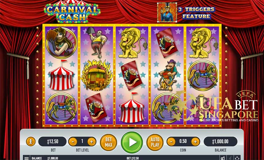 How To Play Carnival Cash Slot Game At Live22