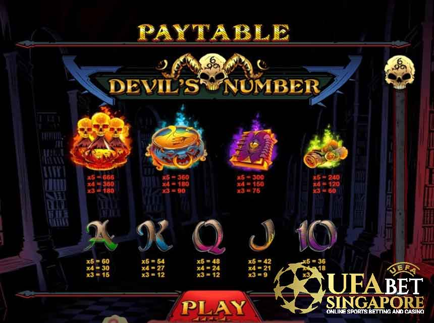 Devil's Number Slot - How To Play Devil's Number Slot At Pussy888