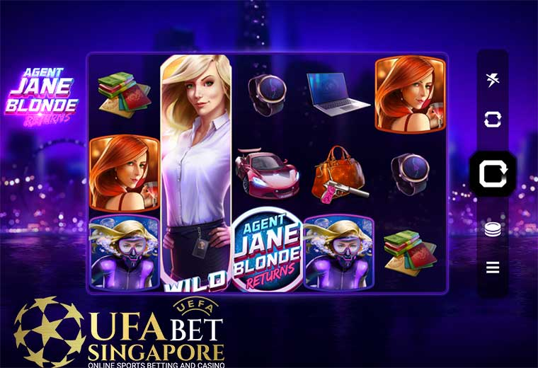 How To Play Agent Jane Blonde Return Slot At 918kiss