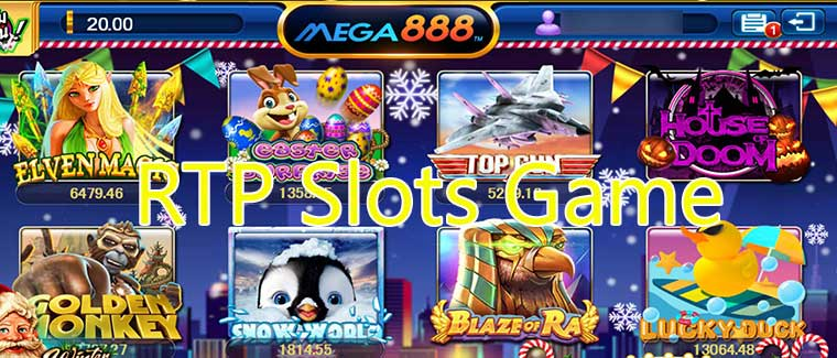 RTP Slots Game – Things To Know RTP Ratio