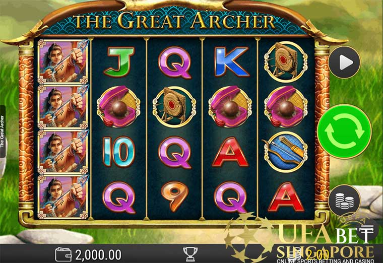How To Play The Great Archer Slot At King855