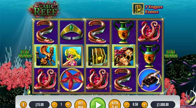 How to play Cash Reef Slot Game At Live22 Casino