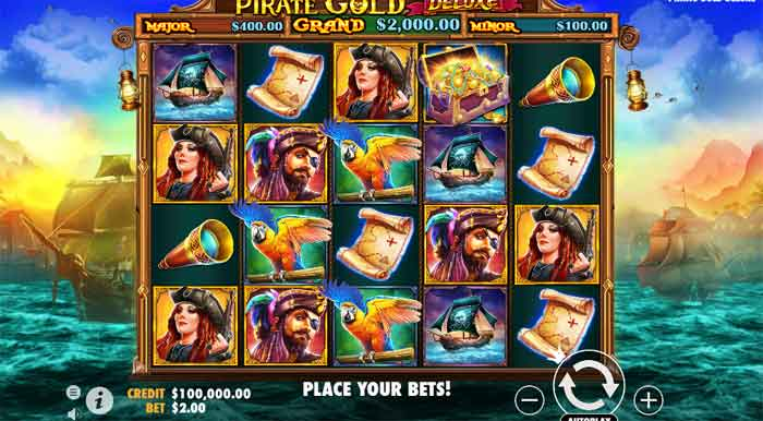 How To Play Pirate Gold Deluxe Slot At Mega888 Online Casino
