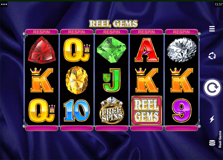 How to play Reel Gems Slot Game