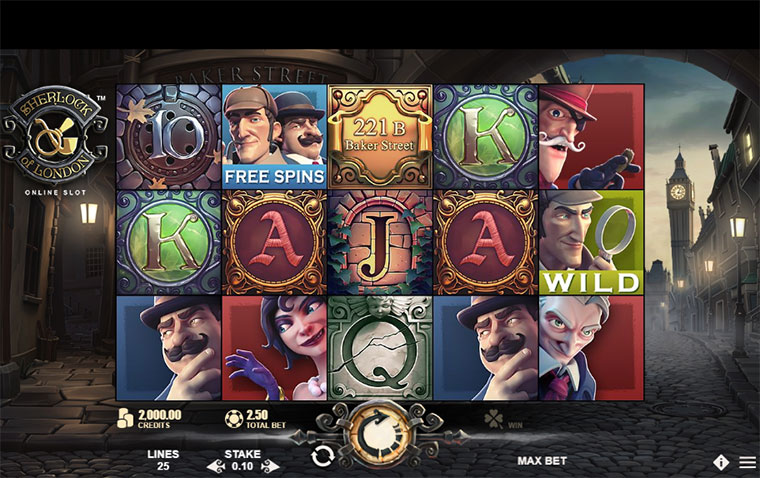 How to play Sherlock Of London Slot Game At Online Casino Singapore