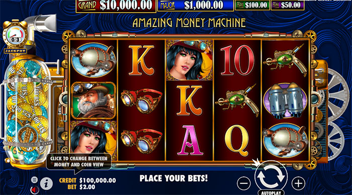 The Amazing Money Machine – Introducing How to Play The Amazing Money Machine Slot
